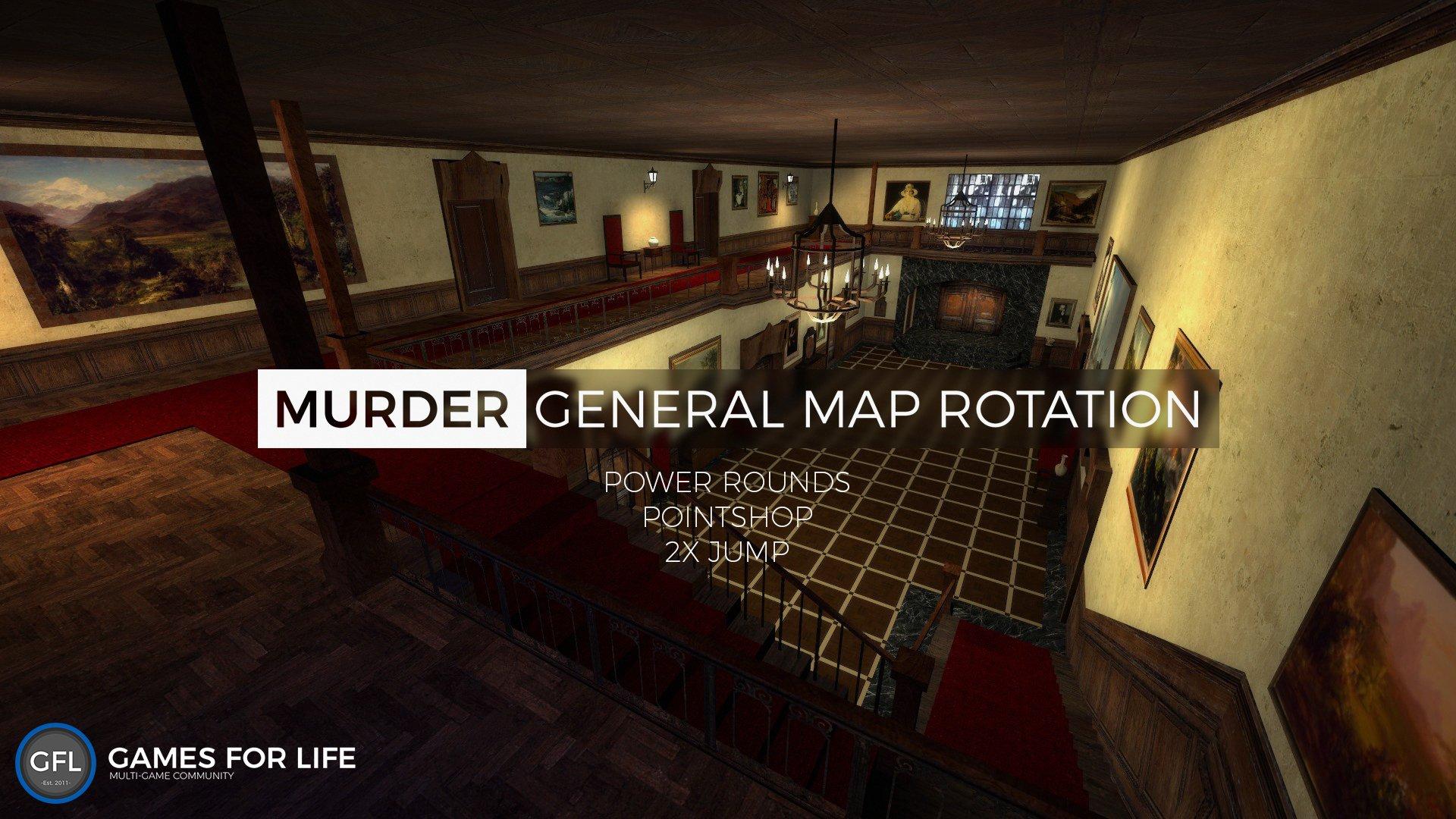 GFL - [Server Update] New Gmod Murder Server! - Updates